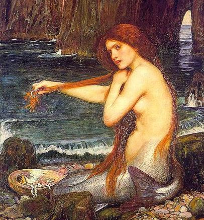 John_William_Waterhouse_A_Mermaid_detail