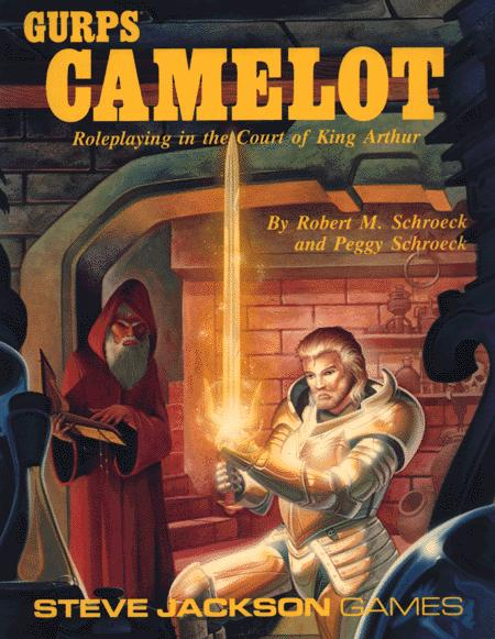 Cover GURPS Camelot