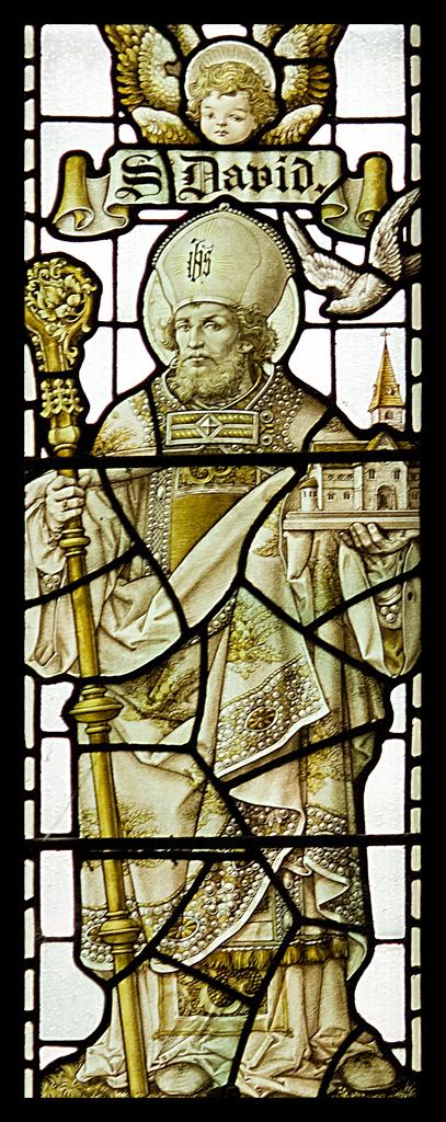 Der heilige David (walisisch Dewi Sant; * 512; † 587) ist der Schutzpatron von Wales. Der 1. März ist der St. Davids Day und viele Einwohner Wales tragen eine Narzisse oder eine Stange Lauch im Knopfloch...
